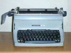 Underwoodfive typewriter